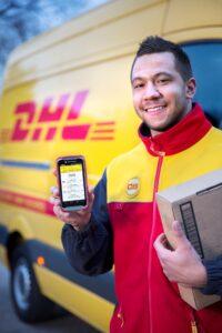 haal en breng service via DHL